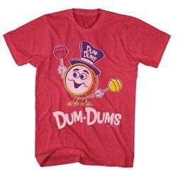 Dum Dums - Mens Drumman T-Shirt