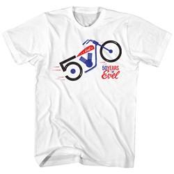 Evel Knievel - Mens 50 Years T-Shirt
