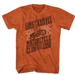 Evel Knievel - Mens Slanted Motorclub T-Shirt