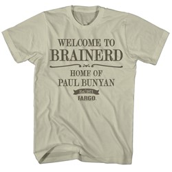 Fargo - Mens Welcome To Brainerd T-Shirt