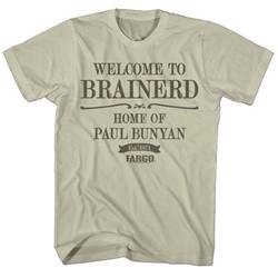Fargo - Mens Welcome To Brainerd T-Shirt