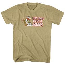 Hagar The Horrible - Mens Buy This Man A Beer T-Shirt
