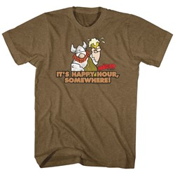 Hagar The Horrible - Mens It'S Happy Hour T-Shirt