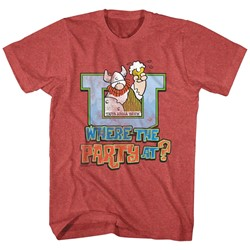 Hagar The Horrible - Mens Where The Party At T-Shirt