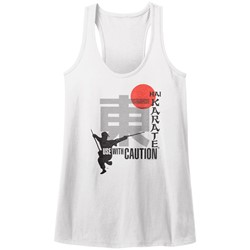 Hai Karate - Womens Use With Caution Tank Top