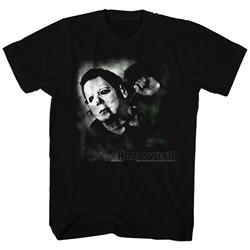 Halloween - Mens Needle Cracked Logo T-Shirt