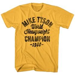Mike Tyson - Mens Hw Champ 88 T-Shirt