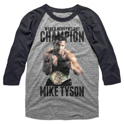 Mike Tyson - Mens Undefeated Raglan
