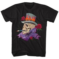 Poison - Mens Skull Smokin Poison T-Shirt