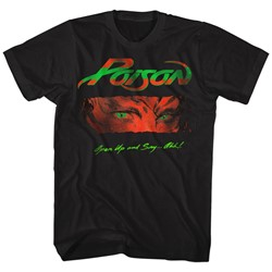 Poison - Mens Open Up And Say Ahh T-Shirt