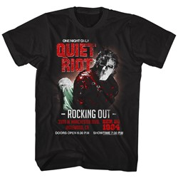 Quiet Riot - Mens Rockingout T-Shirt