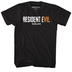 Resident Evil - Mens Re7 Logo T-Shirt