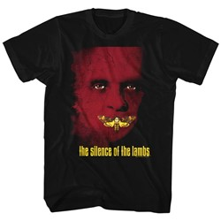 Silence Of The Lambs - Mens Poster T-Shirt