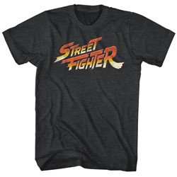 Street Fighter - Mens Logo T-Shirt