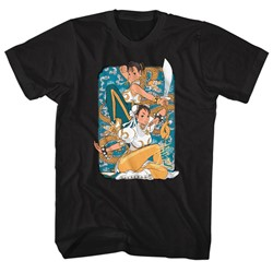 Street Fighter - Mens Dual Chun Li T-Shirt