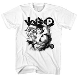 Street Fighter - Mens Hadouken T-Shirt
