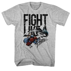 Street Fighter - Mens Fight Like A T-Shirt