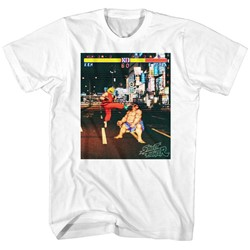 Street Fighter - Mens Real Street Fighter T-Shirt