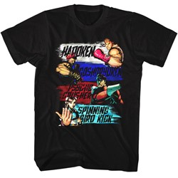 Street Fighter - Mens Show Me Your Moves T-Shirt