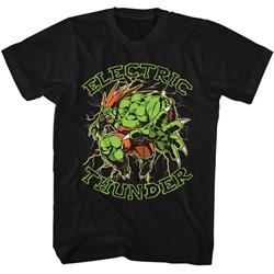 Street Fighter - Mens Electric Thunder T-Shirt