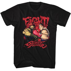 Street Fighter - Mens Fight! T-Shirt