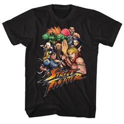 Street Fighter - Mens Stftr T-Shirt