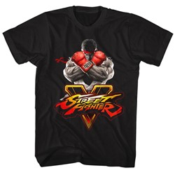 Street Fighter - Mens Sfv Key T-Shirt