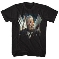 Vikings - Mens Flame T-Shirt