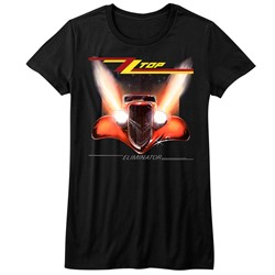 Zz Top - Womens Eliminator Cover T-Shirt