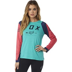 Fox - Womens Grav Longsleeve Shirt