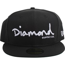 Diamond Supply - Mens Og Script Fitted Hat