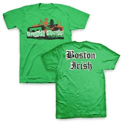 Dropkick Murphys - Mens Dkm Boston Irish Collage T-Shirt