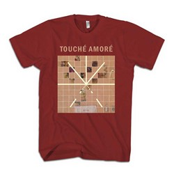 Touche Amore - Mens Stage Four T-Shirt