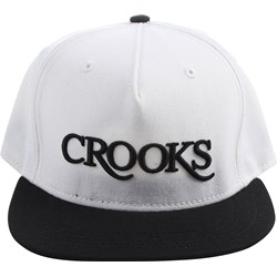 Crooks & Castles - Mens Serif Strapback Hat