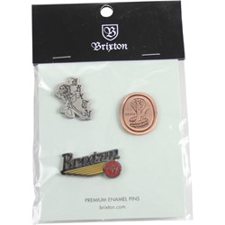 Brixton - Mens Pace Pin Pack