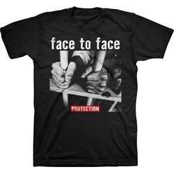 Face To Face - Mens Face To Face Prison Bars T-Shirt