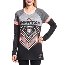 American Fighter - Womens North Dakota Long Sleeve Panel T-Shirt