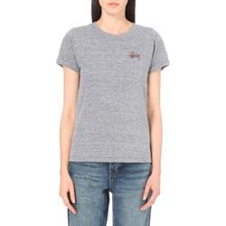 Stussy - Womens Basic Stussy Cuff T-Shirt