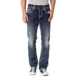 Rock Revival - Mens Rumo J402 Straight Jeans