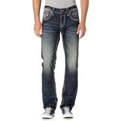Rock Revival - Mens Kevins J203 Straight Jeans