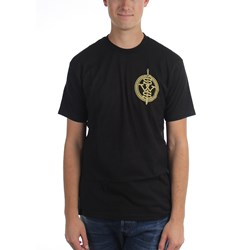 Sleeping With Sirens - Mens Sws Green Crest Left Chest Print T-Shirt