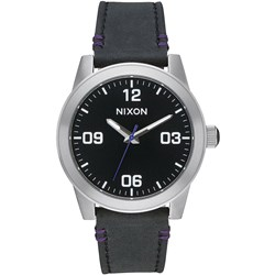 Nixon - Womens G.I. Leather Analog Watch