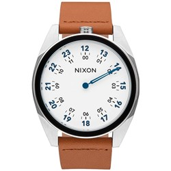 Nixon - Mens Genesis Leather Analog Watch