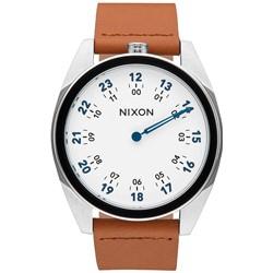 Nixon - Mens Genesis Leather Analog Watch