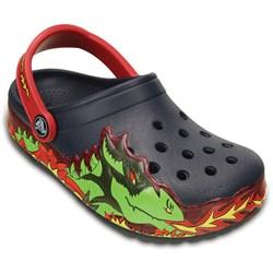Crocs -  Kids' Crocs - Lights Fire Dragon Light-Up Clog  (Infant/Toddler/Little Kid/Big Kid)