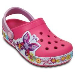 Crocs -  Crocband Butterfly K Clog (Toddler/Little Kid)