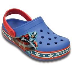Crocs -  Crocband Captain America Clog (Toddler/Little Kid)