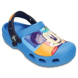 Crocs -  CC Mickey Colorblock K Mickey lincesed clog (Toddler/Little Kid)
