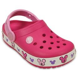 Crocs -  Lights Mickey K Clog (Toddler/Little Kid)