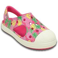 Crocs -  Bump It Tropical Sandal (Toddler/Little Kid)